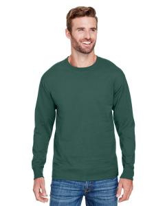 Dark Green Adult Long-Sleeve Ringspun T-Shirt