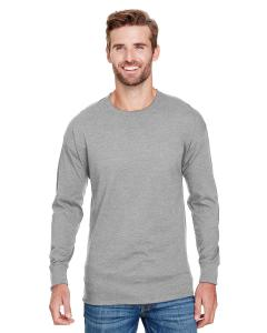 Oxford Gray Adult Long-Sleeve Ringspun T-Shirt