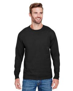 Black Adult Long-Sleeve Ringspun T-Shirt