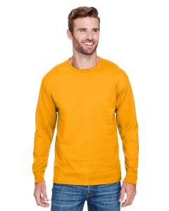 C Gold Adult Long-Sleeve Ringspun T-Shirt