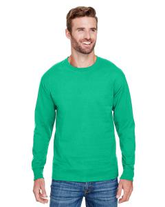 Kelly Green Adult Long-Sleeve Ringspun T-Shirt