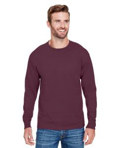 Maroon Adult Long-Sleeve Ringspun T-Shirt