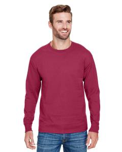 True Cardinal Adult Long-Sleeve Ringspun T-Shirt