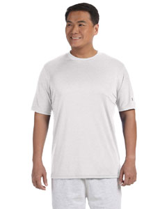 White Adult 4.1 oz. Double Dry® Interlock T-Shirt
