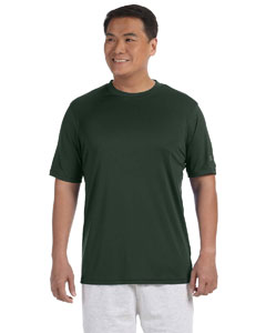 Dark Green Adult 4.1 oz. Double Dry® Interlock T-Shirt