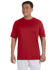 Scarlet Adult 4.1 oz. Double Dry® Interlock T-Shirt