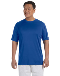 Royal Blue Adult 4.1 oz. Double Dry® Interlock T-Shirt