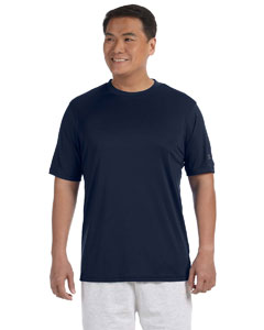 Navy Adult 4.1 oz. Double Dry® Interlock T-Shirt