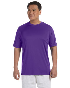 Purple Adult 4.1 oz. Double Dry® Interlock T-Shirt