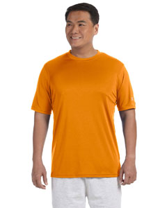 Safety Orange Adult 4.1 oz. Double Dry® Interlock T-Shirt
