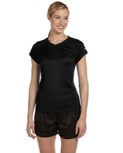 Black Women's 4 oz. Double Dry® Performance T-Shirt