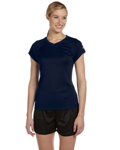 Navy Women's 4 oz. Double Dry® Performance T-Shirt