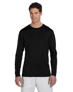 Black 4 oz. Double Dry® Performance Long-Sleeve T-Shirt