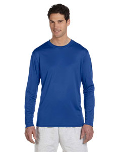 Royal Blue 4 oz. Double Dry® Performance Long-Sleeve T-Shirt