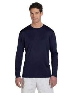 Navy 4 oz. Double Dry® Performance Long-Sleeve T-Shirt