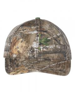 Realtree Edge Camo Cap with American Flag Undervisor