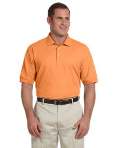 Cantaloupe Men's Pima Piqué Short-Sleeve Polo