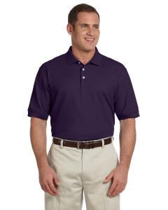 Deep Purple Men's Pima Piqué Short-Sleeve Polo