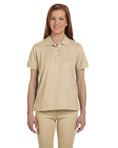 Stone Women's Pima Piqué Short-Sleeve Polo