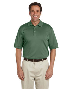 Dill Men's Solid Perfect Pima Interlock Polo