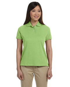 Willow Women's Solid Perfect Pima Interlock Polo