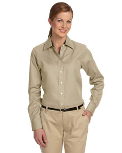 Khaki Women's Pima Advantage Twill
