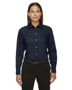 Navy Ladies Crown Woven Collection Solid Broadcloth
