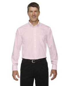 Pink Men's Crown Woven Collection™ Solid Oxford