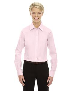 Pink Ladies' Crown Woven Collection™ Solid Oxford
