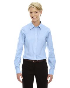 French Blue Ladies' Crown Woven Collection™ Solid Oxford