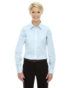 Crystal Blue Ladies' Crown Woven Collection™ Solid Oxford