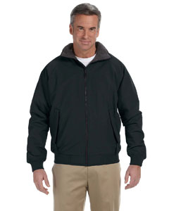 Black Men's Three-Season Classic Jacket