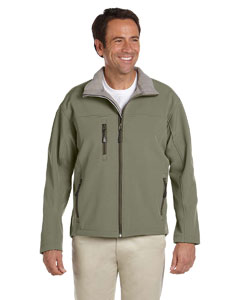 Olive Men's Soft Shell Jacket