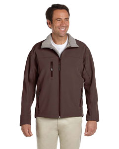 Brown Men's Soft Shell Jacket