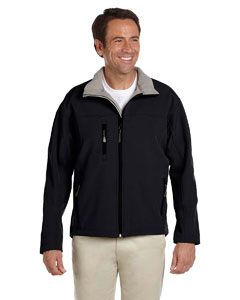 Black Men's Soft Shell Jacket
