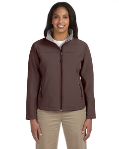 Brown Women's Soft Shell Jacket