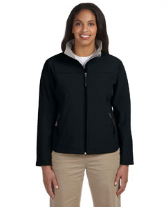 Black Women's Soft Shell Jacket