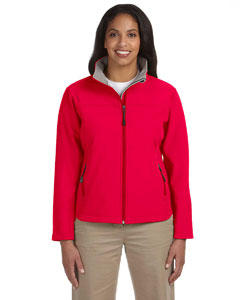 Red Women's Soft Shell Jacket