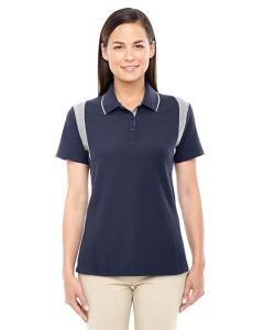 Navy/ Grey Hthr Ladies' DRYTEC20™ Performance Colorblock Polo