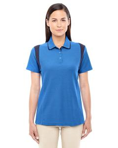 French Blue/ Nvy Ladies' DRYTEC20™ Performance Colorblock Polo