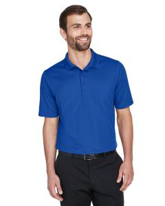 True Royal CrownLux Performance Men's Plaited Polo