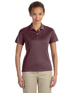Burgundy Heather Women's Pima-Tech™ Jet Piqué Heather Polo