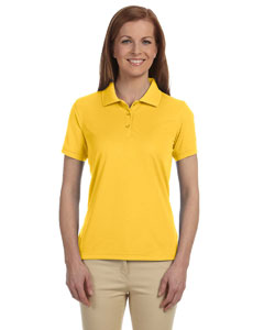 Sunray Yellow Women's Dri-Fast™ Advantage™ Solid Mesh Polo