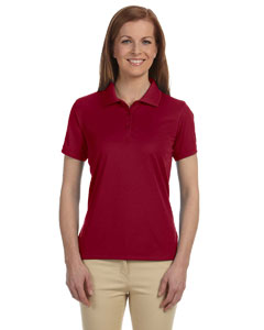 Crimson Women's Dri-Fast™ Advantage™ Solid Mesh Polo