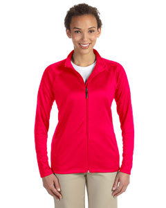 Red Ladies' Stretch Tech-Shell™ Compass Full-Zip
