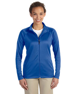 True Royal Ladies' Stretch Tech-Shell™ Compass Full-Zip