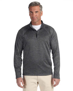 Dk Grey Heather Men's Stretch Tech-Shell™ Compass Quarter-Zip