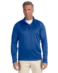 True Royal Men's Stretch Tech-Shell™ Compass Quarter-Zip