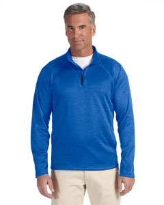 French Blue Hthr Men's Stretch Tech-Shell™ Compass Quarter-Zip