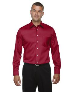 Red Men's Crown Woven Collection™ Solid Stretch Twill